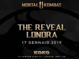 RADIO 105 REGALA DUE BIGLIETTI PER PARTECIPARE ALL'EVENTO ESCLUSIVO DI LONDRA DI 'MORTAL KOMBAT XI: THE REVEAL'