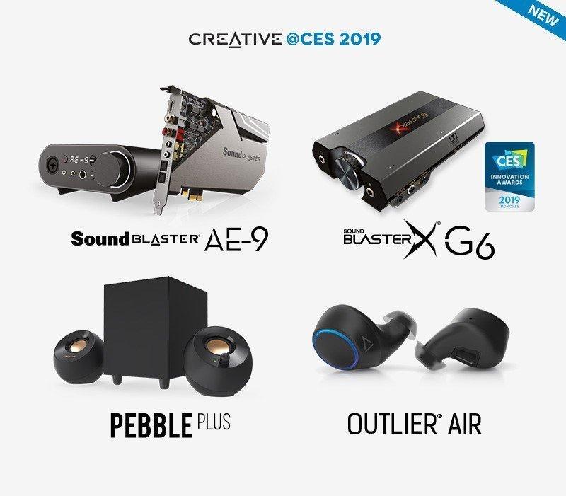 Creative CES 2019