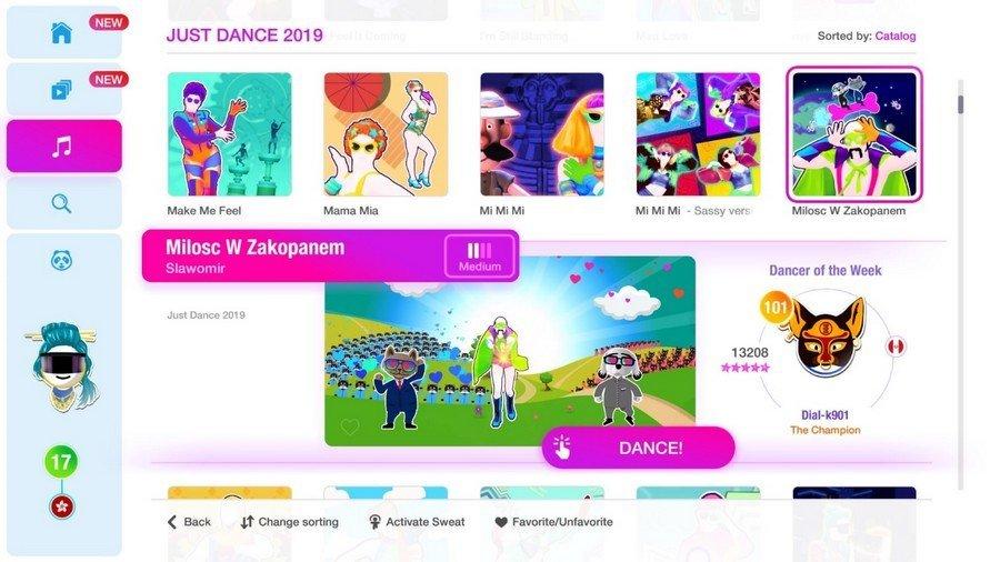 Just Dance 2019 screen06