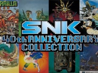 40TH ANNIVERSARY COLLECTION DI SNK