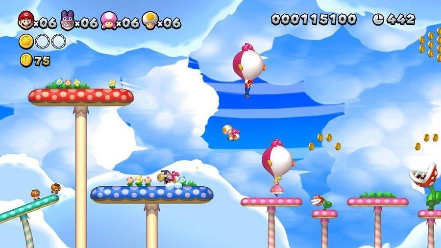 New Super Mario Bros. U Deluxe screen 01