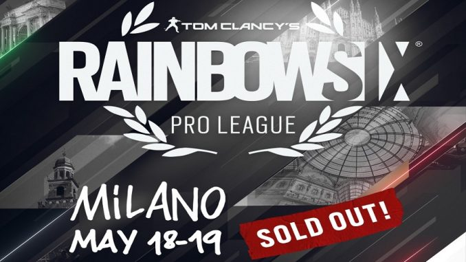 Rainbow Six Pro League_sold out