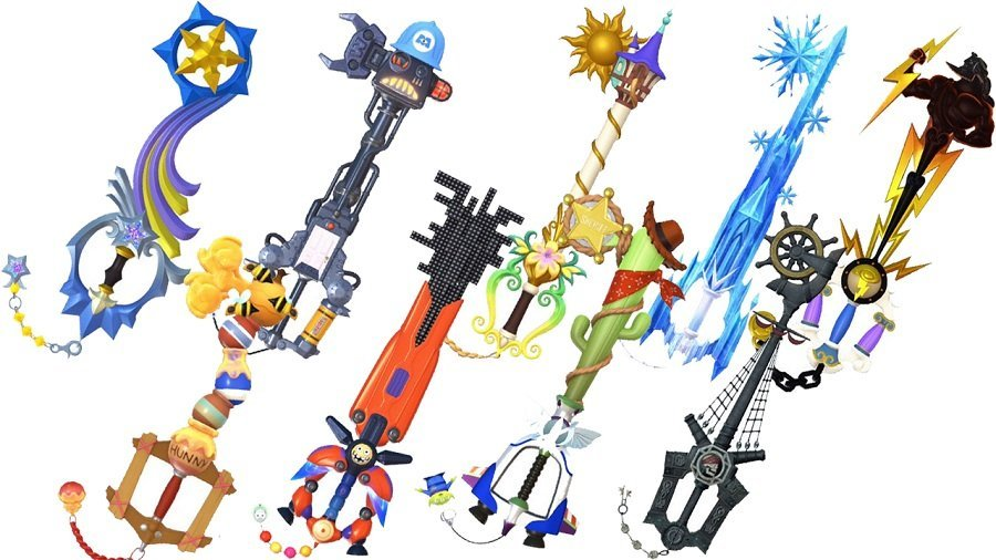 Kingdom Hearts III Keyblade