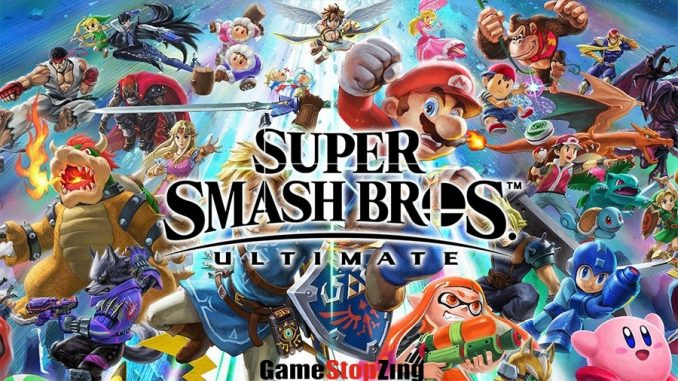 Super Smash Bros. Ultimate Gamestopzing