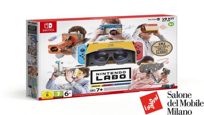 Fuorisalone 2019 Nintendo