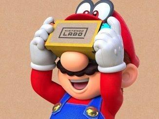 Nintendo LABO Kit VR aggiornamento supermario