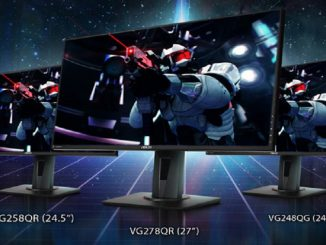 I gaming monitor ASUS VG278QR, VG258QR VG248QG