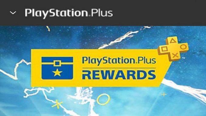 PS Plus Rewards