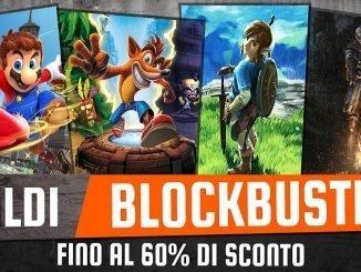 saldi Blockbuster Nintendo Switch e 3DS