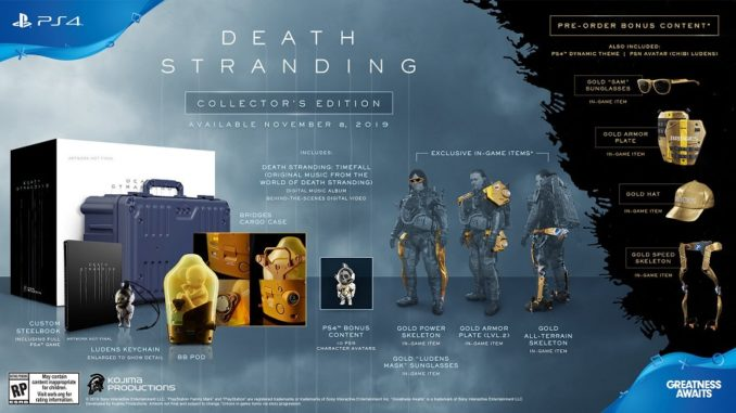 Collectors Edition Death Stranding