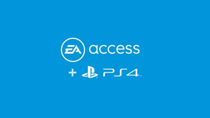 EA Access PS4
