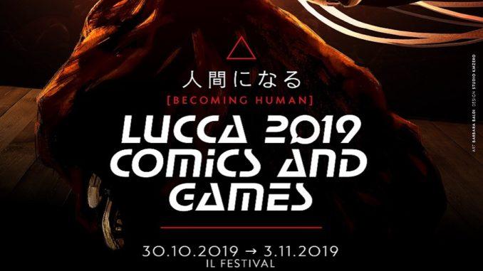 Lucca Comics & Games 2019 logo