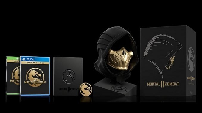 Mortal Kombat 11 Kollector Edition