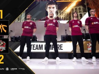 Rainbow Six Pro League Team Empire