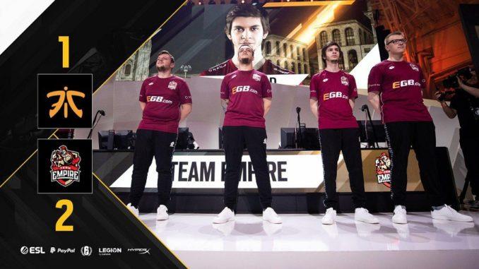 Rainbow Six Pro League Team Empire