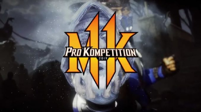 MORTAL KOMBAT 11 PRO KOMPETITION