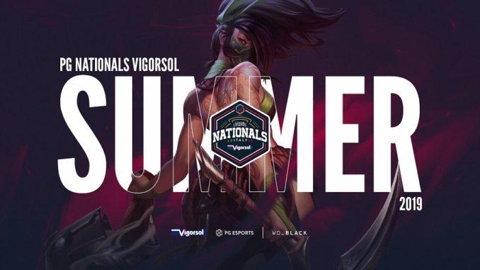 PG Nationals Vigorsol 2019