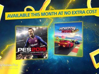 PlayStation Plus Pro Evolution Soccer 2019 Horizon Chase Turbo