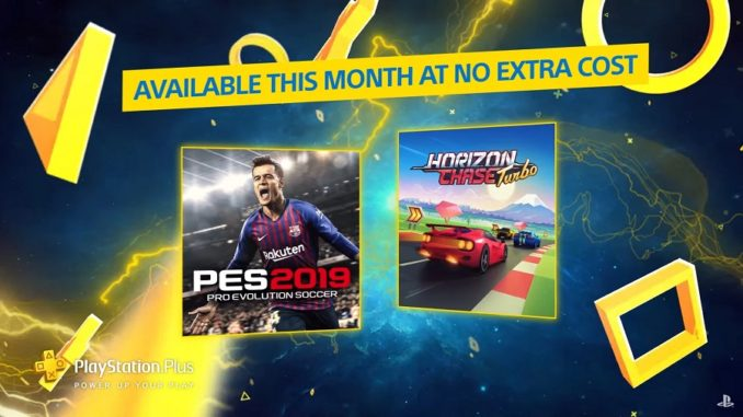 PlayStation Plus Pro Evolution Soccer 2019 Horizon Chase Turbo