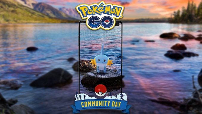 Pokémon GO communityday mudkip