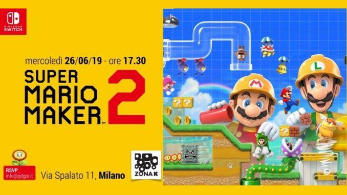 Super Mario Maker 2 Eventio