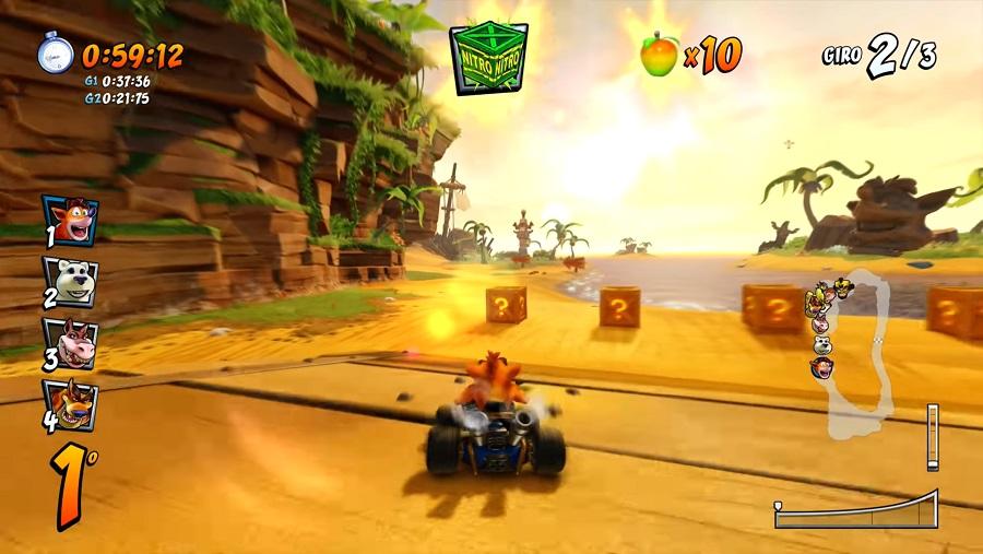 Crash Team Racing Nitro-Fueled screen 2