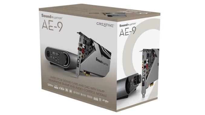 Sound Blaster AE-9 scatola