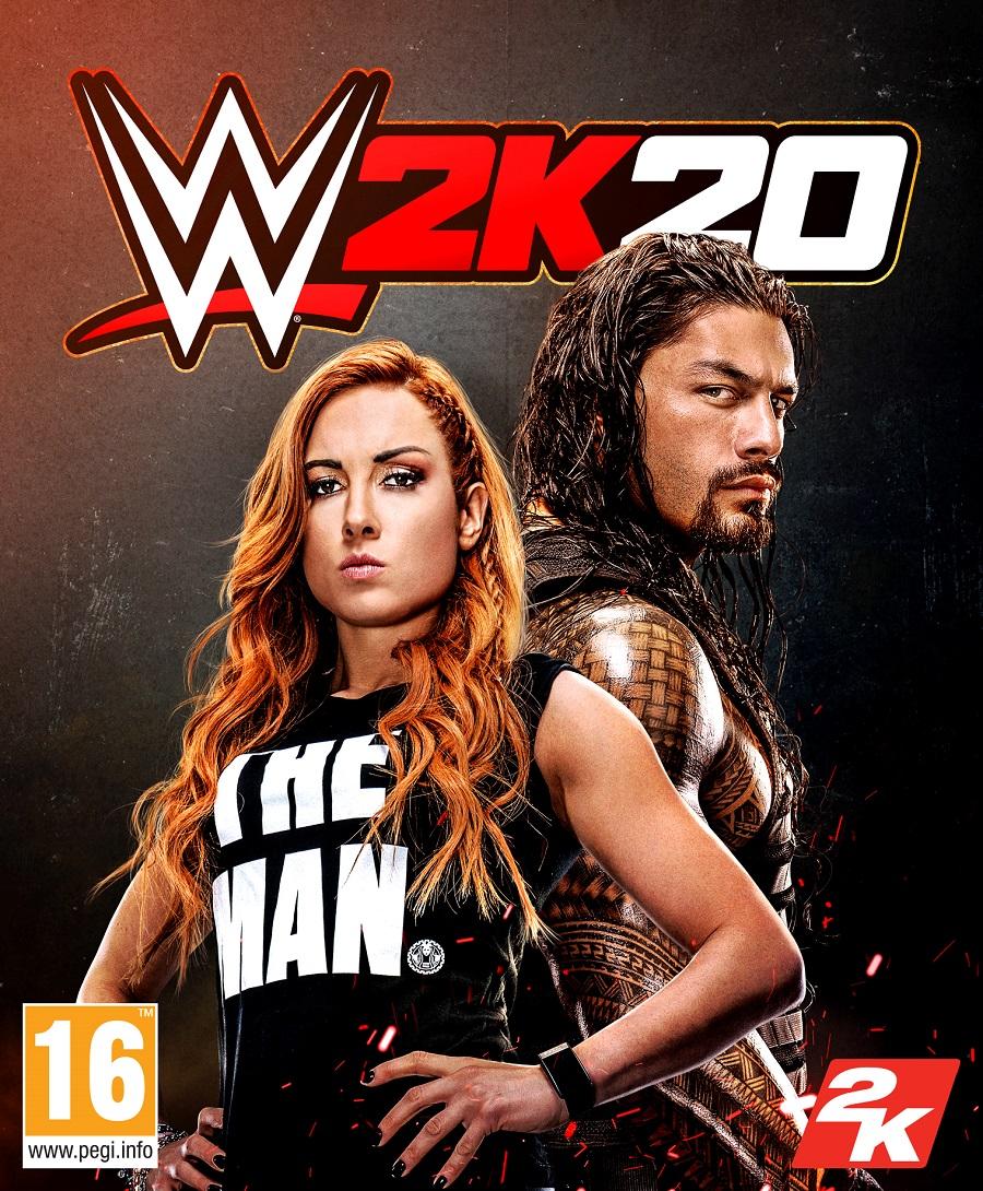 COPERTINA 2K WWE 2K20