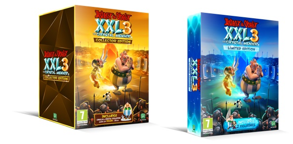 Asterix e Obelix XXL3 The Crystal Menhir Limited edition
