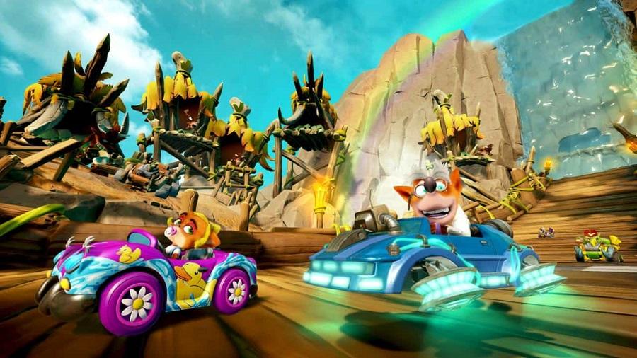 Crash Team Racing Nitro-Fueled Back N. Time 2