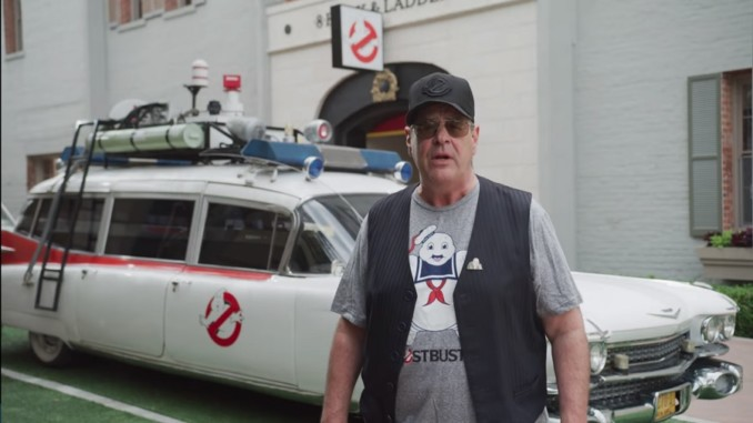 Dan Aykroyd nel trailer di Ghostbusters The Video Game Remastered