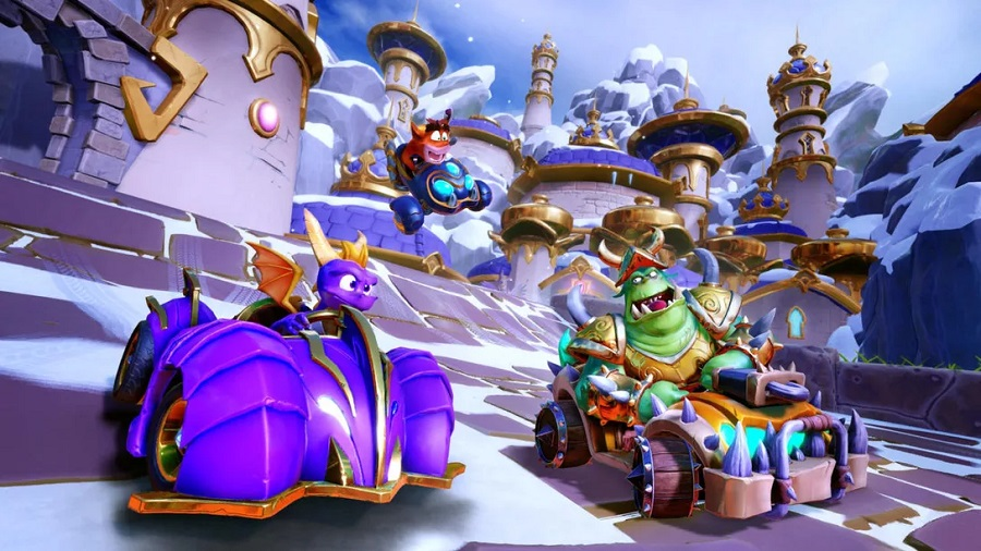 Spyro e Friends Grand Prix