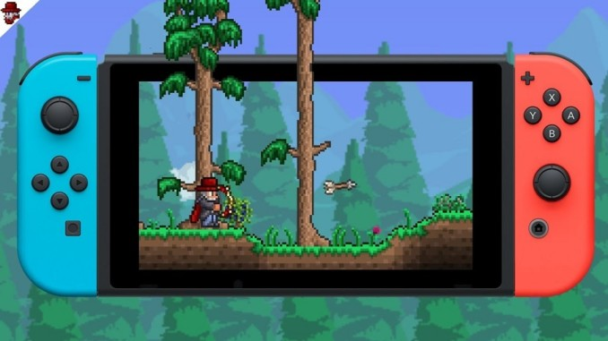 Terraria Retail Nintendo Switch
