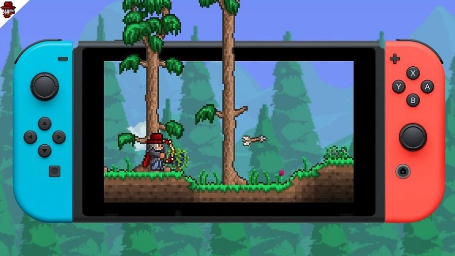 Terraria ora disponibile in versione retail su Nintendo Switch