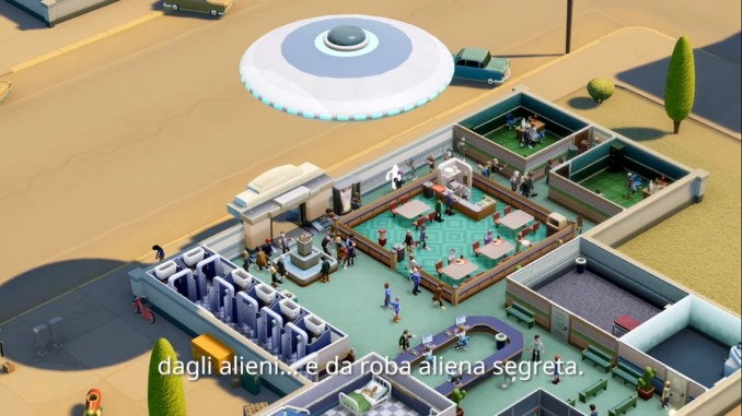 Two Point Hospital Incontri ravvicinati con alieni
