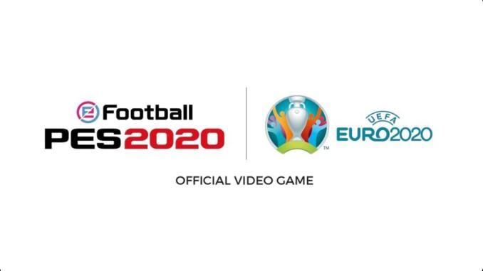 eFootball PES 2020 accordo di licenza per la UEFA EURO 2020