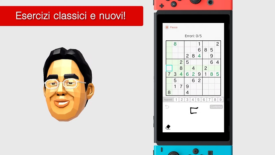 Brain Training del Dr. Kawashima per Nintendo Switch screenshot 2