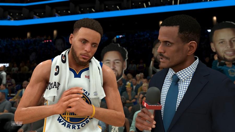 NBA 2K20 Gameplay - Los Angeles Lakers vs Golden State Warriors – NBA 2K20 PS4 18-1 screenshot