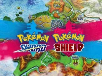 Pokémon Spada e Scudo mappa