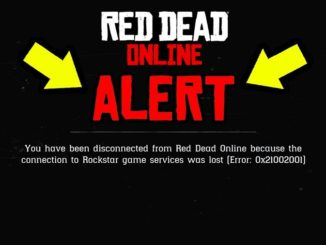 Red Dead Online errore 0X20010006