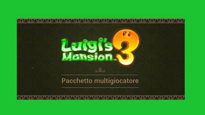 Pacchetto multigiocatore di Luigi's Mansion 3