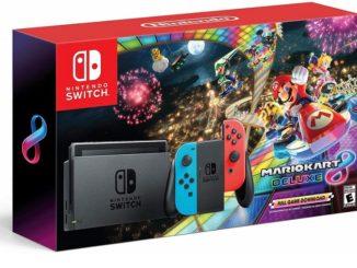 Nintendo Switch Limited Edition + Mario Kart 8