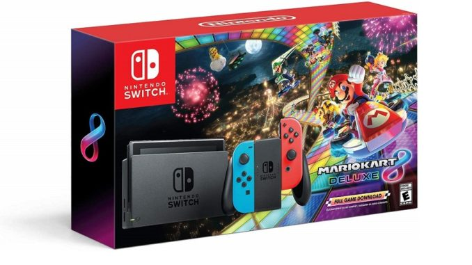 Nintendo Switch Limited Edition + Mario Kart 8