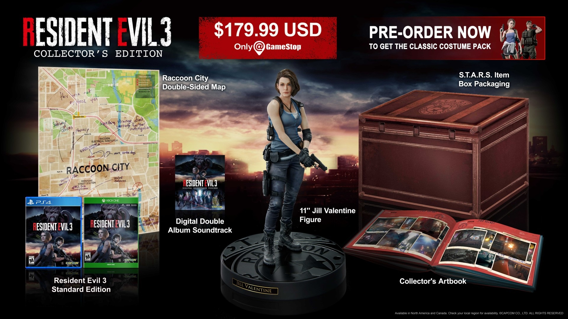 Resident Evil 3 Nemesis Collector edition
