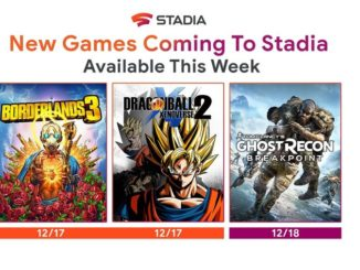 Stadia Dragonball 2, Borderlands 3