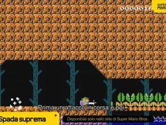 Super Mario Maker 2 - La spada suprema, nuovi elementi per i livelli e altro ancora! 2-51 screenshot