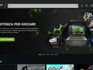 GeForce Now il servizio streaming