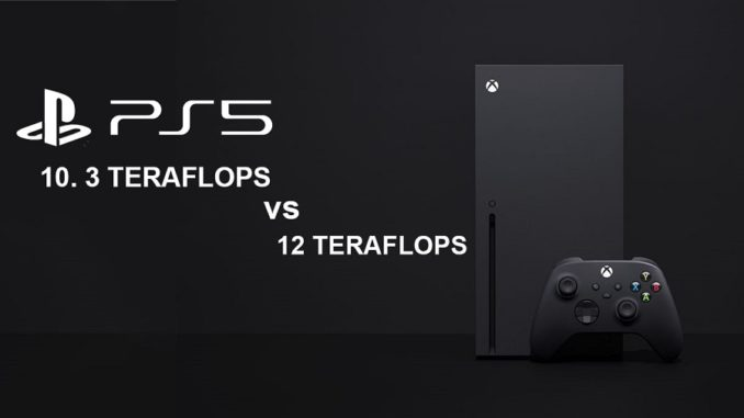 Xbox e PlayStation Teraflops