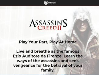 Play Your Part, Play At Home Assassins Creed II
