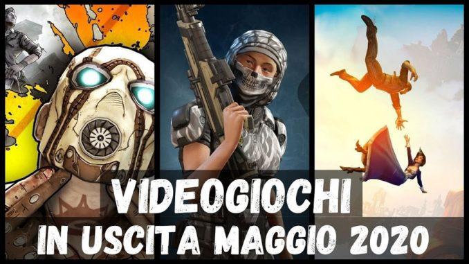 Uscite Videogiochi Maggio 2020 - EliRedz